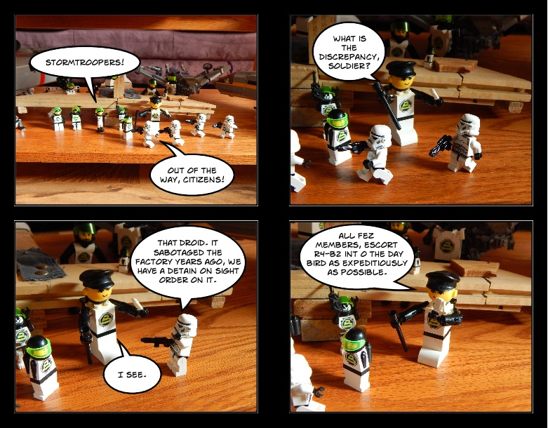 115 A different droid they were looking for.